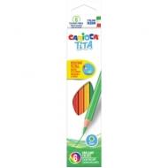 """Карандаши пластиковые Carioca """"Tita"""", 6 цв., заточен., картон, европодвес"""