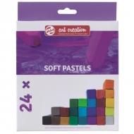 Набор мягкой сухой пастели для рисования Art Creation Royal Talens 24 цвета