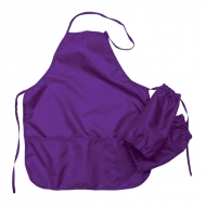 Фартук с нарукавниками Оникс, 53*45см, 2 кармана, фиолетовый