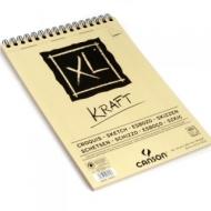 Альбом для графики Canson Xl Крафт 90г/кв.м 21*29.7см 60листов спираль по короткой стороне