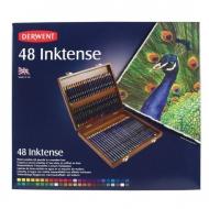 Набор акварельных карандашей Derwent Inktense, 48 цветов