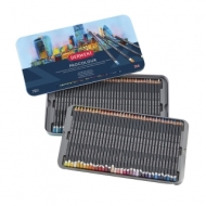 Набор цветных карандашей Derwent Procolour 72 цв., металлический пенал