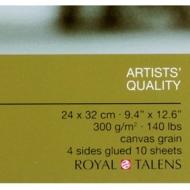 Альбом для рисования масляными красками Rembrandt Royal Talens 300 г/м2, 10 листов 24х32 см