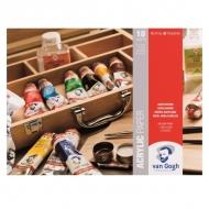 Альбом для акриловых красок Van Gogh Royal Talens, 370г, 10 листов, 24х32 см