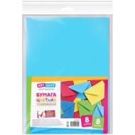 Цветная бумага A4, ArtSpace, 8л., 8 цветов, тонированная, в пакете