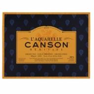 Блок для акварели Canson Heritage 300г/кв.м (хлопок) 31*41см 20листов Фин склейка по 4 сторонам