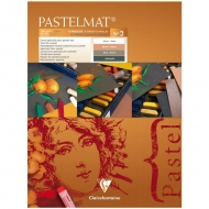 """Альбом для пастели Clairefontaine """"Pastelmat"""", 300х400 мм, 360г/м2, склейка, 12 л, бархат, цветной блок"""