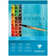 """Альбом для акварели Clairefontaine """"Etival"""", А4, 200г/м2, холод.пресс., склейка, 10 л."""
