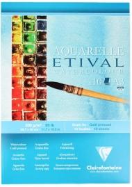 """Альбом для акварели Clairefontaine """"Etival"""", А3, 200г/м2, холод.пресс., склейка, 10 л."""