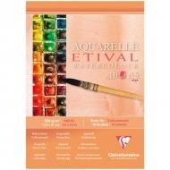 """Альбом для акварели Clairefontaine """"Etival"""", А5, 300г/м2, холод.пресс., склейка, 10 л."""