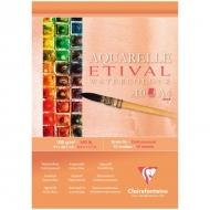 """Альбом для акварели Clairefontaine """"Etival"""", А4, 300г/м2, холод.пресс., склейка, 10 л."""