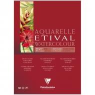 """Альбом для акварели Clairefontaine """"Etival"""", А4, 200г/м2, склейка, 10 л."""