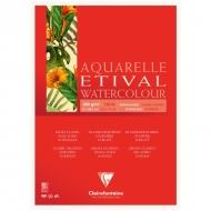 """Альбом для акварели Clairefontaine """"Etival"""", А4, 300г/м2, склейка, 10 л."""