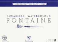 Альбом-склейка для акварели Clairefontaine Fontаine, 100% хлопок, сатин, 300 г/м2, 42*56 см, 25 листов
