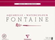 Альбом-склейка для акварели CLAIREFONTAINE Fontаine, среднее зерно, 300 г/м2 , 42*56 см, 25л