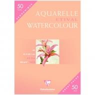 "Бумага для акварели Clairefontaine ""Etival color"", А4, 300 г/м2, 50 л., холод.пресс."