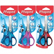 Ножницы с прорезиненными ручками Maped Essentials soft, 13 см