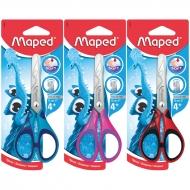 Ножницы с прорезиненными ручками Maped Essentials soft, 13 см