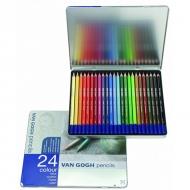 Набор цветных карандашей Royal Talens Van Gogh Базовый, 24 цвета