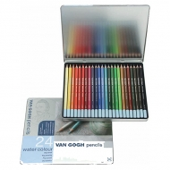 Набор акварельных карандашей Royal Talens Van Gogh Базовый, 24 цвета