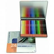 Набор пастельных карандашей Royal Talens Van Gogh Базовый, 24 цвета