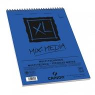 Альбом для смешанных техник Canson Xl Mix-Media 300г/кв.м 29.7*42см 30листов Среднее зерно
