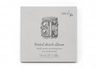 Альбом SM-LT Art Layflat sketch Bristol 185г/м2 14.8х14.8 см 32листа книжный переплет (сшитый)