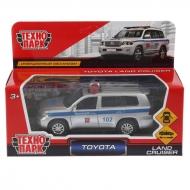 """Машина игрушечная Технопарк """"Toyota land cruiser полиция"""" 12,5см, открыв. двери, инерционная"""