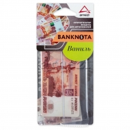 Ароматизатор автомобильный подвесной картонный Banknota 5000 рублей, аромат Ваниль, A1509103