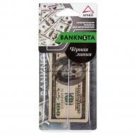 Ароматизатор автомобильный подвесной картонный Banknota 100$, аромат Черная линия, A1509105