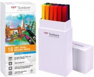 Набор маркеров Tombow ABT set primary colors 18 шт., основные тона-1