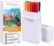 Набор маркеров Tombow ABT set secondary colors 18 шт., основные тона-2
