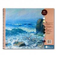 """Альбом для пастелей Palazzo """"Aquamarinе"""" Лилия Холдинг, цветная бумага, 160 г/кв.м, 30х40 см, 54 л"""