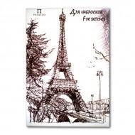 """Бумага для набросков """"Париж"""" Лилия Холдинг, 90 г/кв.м, формат А3, 200 листов"""