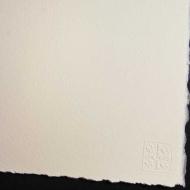 Акварельная бумага Saunders Waterford HP+High White, 300 г/м2, 100% хлопок, 2 рваных края, 56х76 см, 10л