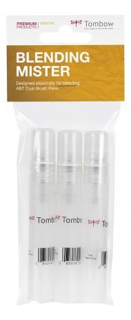 Набор распылителей Tombow Blending Mister spray для создания цветовых градиентов, 3 шт.
