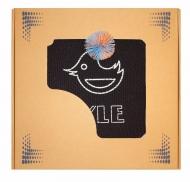 Набор для игры Мультидиск FYLE Maxi (2в1 Бадминтон и Фрисби) 40 см, желто-синий