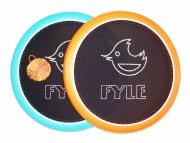 Набор для игры Мультидиск FYLE Maxi (2в1 Бадминтон и Фрисби) 40 см, оранжево-голубой