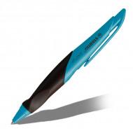 Ручка гелевая EASYgel STABILO для правшей, синяя, 0.5 мм, корпус лазурный