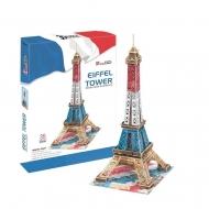 3D-пазл CubicFun Эйфелева Башня (Франция), цветная