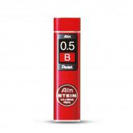 Грифели для автоматических карандашей Pentel Ain Stein 40 шт 0.5 мм (B 2B HB H)