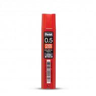 Грифели для любых автоматических карандашей Pentel Ain Stein 12 шт 0.5 мм (2B и HB)