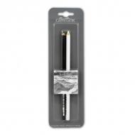 Набор масляных карандашей «Гром» и «Молния» CRETACOLOR, белый и черный