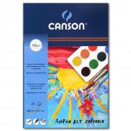 Альбом для живописи CANSON, мелкозернистая бумага 120 г/м2, формат А4, 25 листов