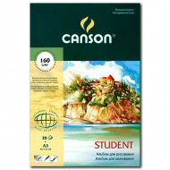 """Альбом для рисования CANSON """"Student"""", 160 г/м2, формат А3, 30 листов"""
