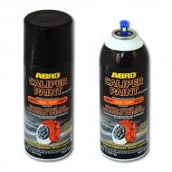 Автомобильная краска-спрей ABRO с полимерами для суппортов, дисков, пружин, барабанов