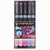 Набор художественных маркеров Chameleon Floral Tones, цветочные тона, 5 шт