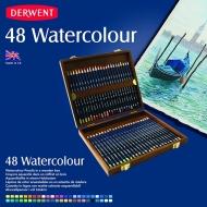 Набор акварельных карандашей Derwent Watercolour 48цв в дерев.упак