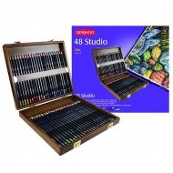 Набор цветных карандашей Derwent Studio 48цв в дерев.упак
