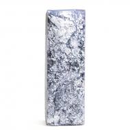Серебряная поталь в хлопьях Киа для декупажа и декорирования